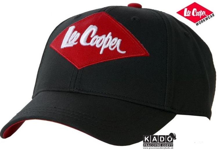 Pracovné odevy - šiltovka Lee Cooper čierno červená 6fc99f040f2