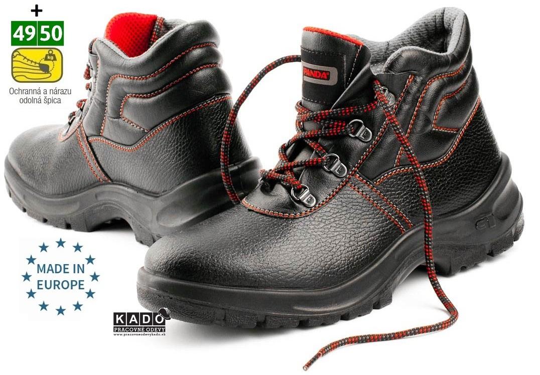 e01b0bbf1a Bezpečnostná obuv PANDA Strong MITO S1 empty