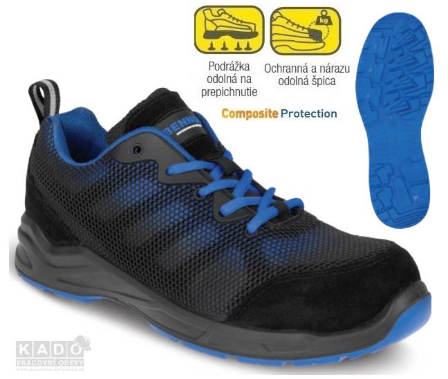 f0694fcf8 Bezpečnostná vzdušná obuv BENNON SPACER S1P. cena v eshope 31,83 €. TOP  produkty. Pracovné odevy - SPODNÉ THERMO prádlo VISBY PANOPLY SIVO/ČIERNE  SKLADOM