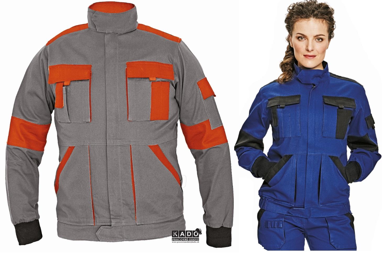 Pracovné odevy - montérkové blúzy MAX LUXY 3114ed7da45
