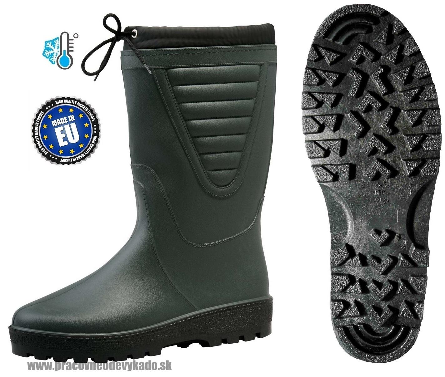 Pracovná obuv - Zateplené pracovné Čižmy POLAR 46f8fa0c266
