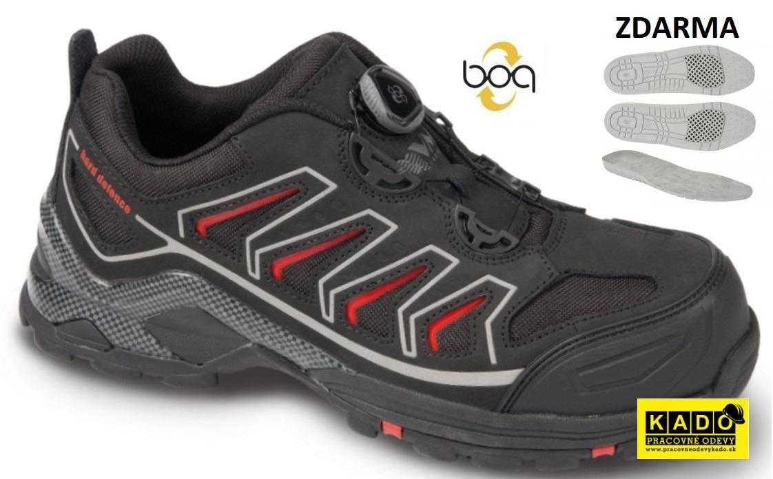 AKCIA Pracovná obuv VM - poltopánky 6115-O1 TORONTO BOA + STIELKA 3007  ZDARMA 19c7960ce5e