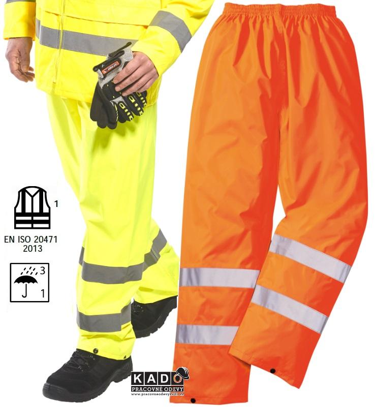 Pracovné odevy - Reflexné nepremokavé nohavice H441 PW d1f0637dd84