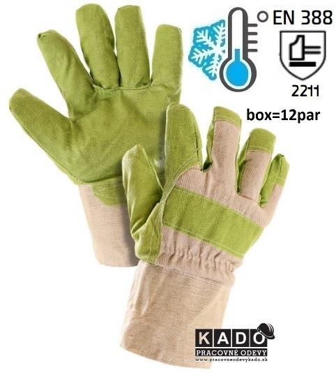 Pracovné zateplené rukavice NERO WINTER CXS 11 ce7b42e1f1