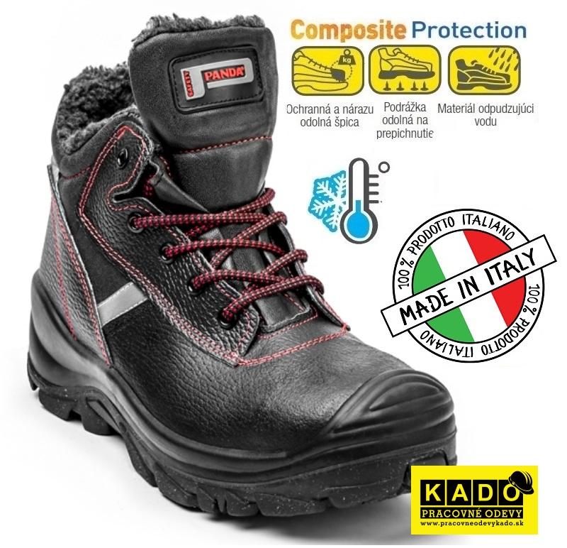 d16d64c5db167 Bezpečnostná zateplená obuv PANDA CERBIATTO S3 empty