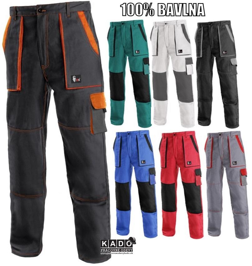Pracovné odevy - montérkové Nohavice CXS LUXY JOSEF 49a0506616