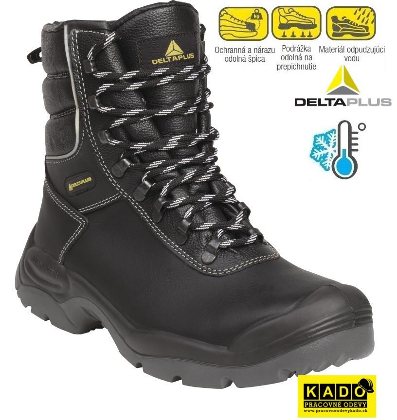 efc4c6eece8c Bezpečnostná poloholeňová obuv CADEROUSSE S3 CI SRC DELTAPLUS zateplená