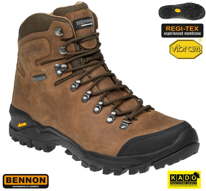 4be978791bfc Treková kotníková obuv BENNON TERENNO VIBRAM