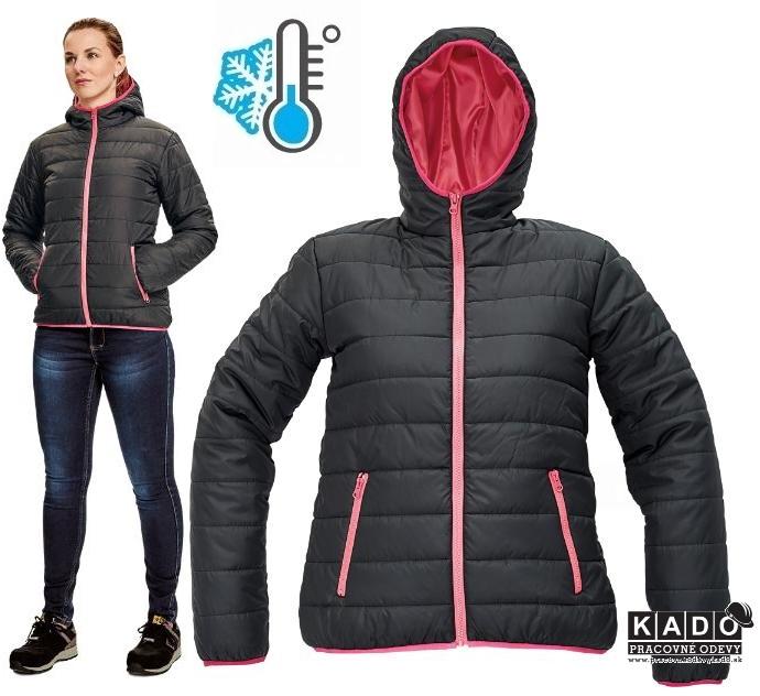 5a87a8031209 Pracovné odevvy - Dámska outdoorová bunda FIRTH LADY CRV ČIERNA