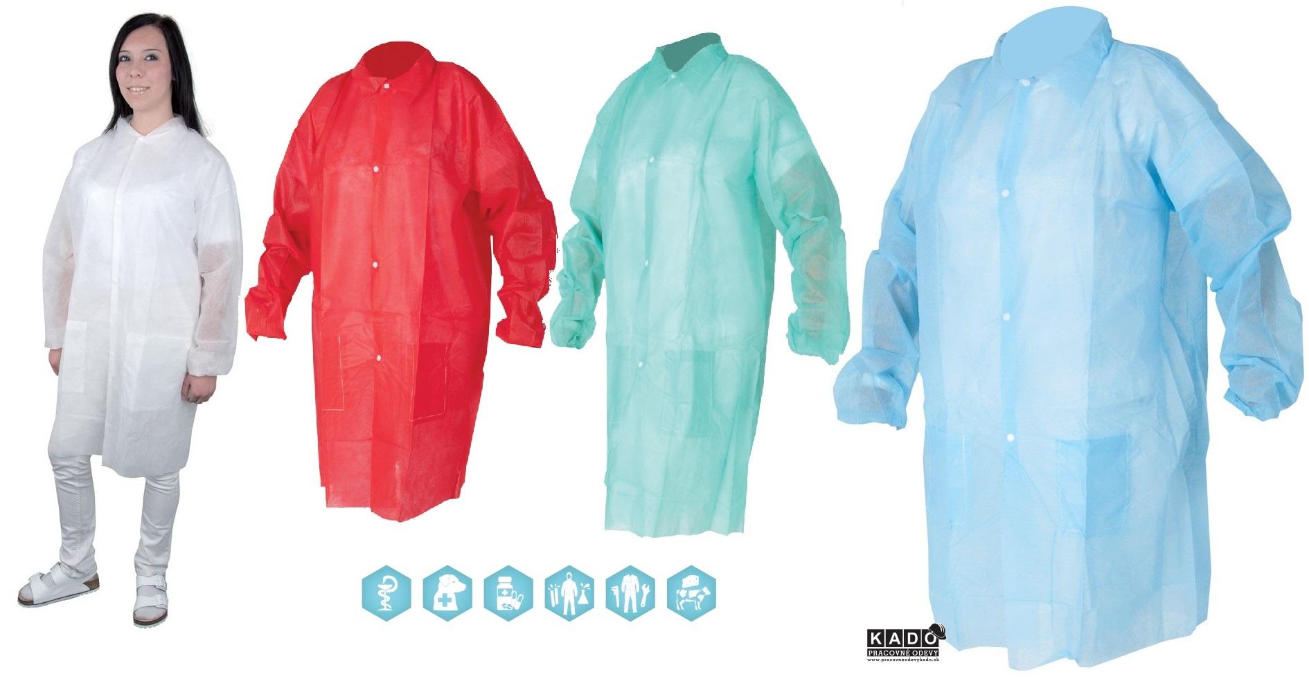 59d7aaef1884 Pracovné odevy - Jednorázový plášť SYLVIE ARDON