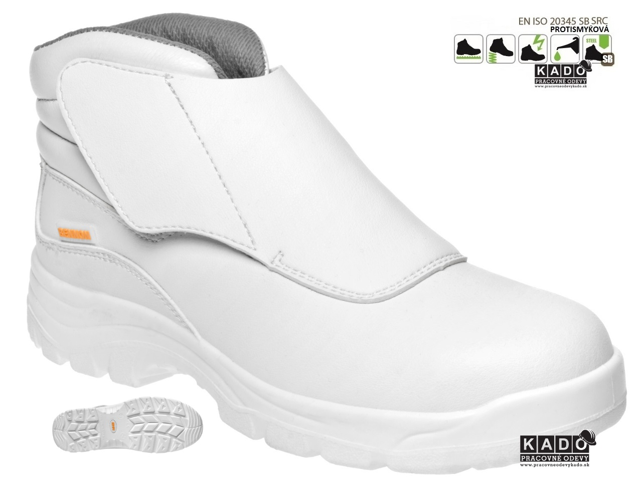 c7072eb447 Bezpečnostná obuv BENNON WHITE S2 HIGH