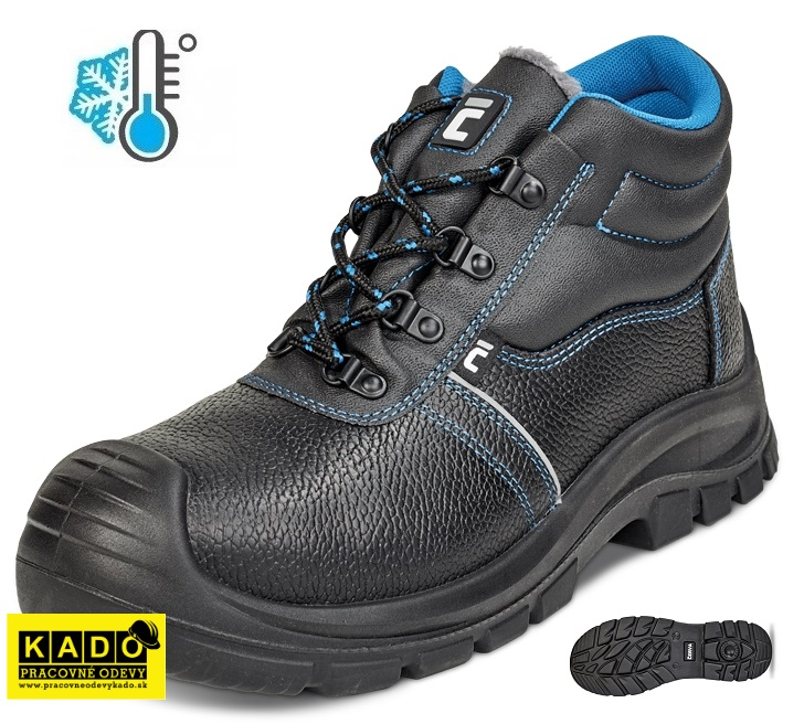 44c73816459c3 Zateplená pracovná obuv RAVEN XT ANKLE WINTER O1 CI SRC