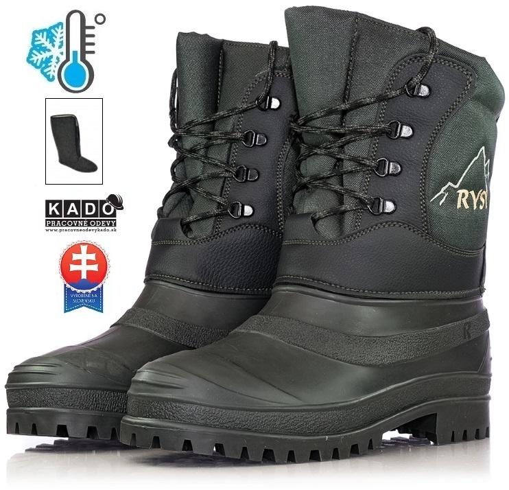 Pracovná obuv - Zateplené Čižmy RYSY ROHÁČAN 04f9910ee3