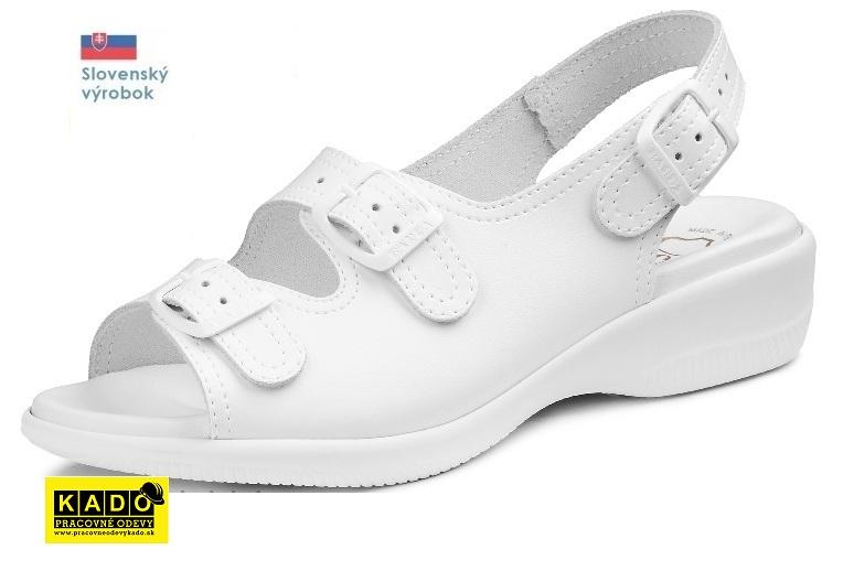 5fccbd488553 Pracovná rehabilitačná obuv BAREA - zdravotné sandále 080047