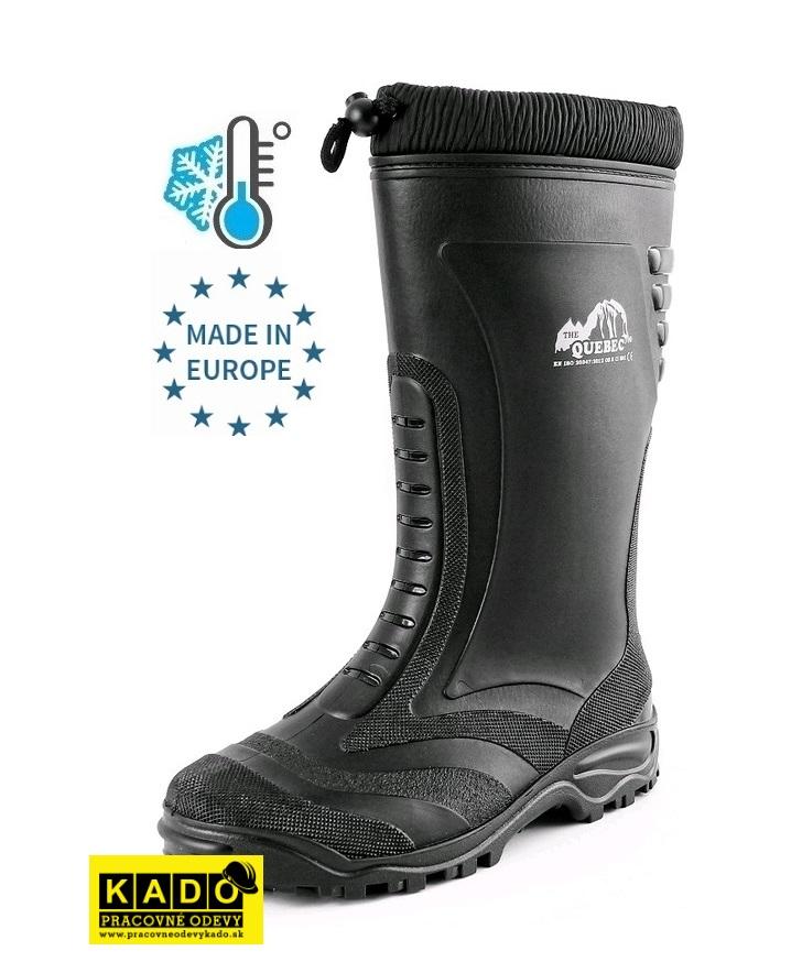 460f5a2d47 Pracovná obuv - Zateplené pracovné Čižmy QUEBEC CXS