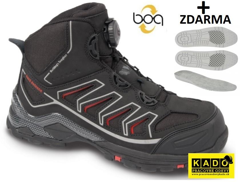 AKCIA Pracovná kotníková obuv VM 6120-O2 OMAHA BOA + STIELKA 3007 ZDARMA 6ce33d429a9