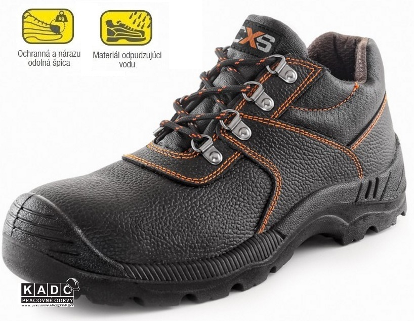 Pracovná obuv - Bezpečnostné poltopánky 7be587464e7