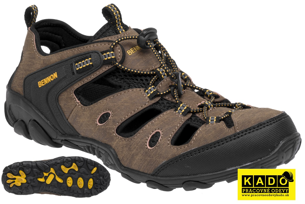 14e8af1b3ab Treková obuv - sandále BENNON CLIFTON