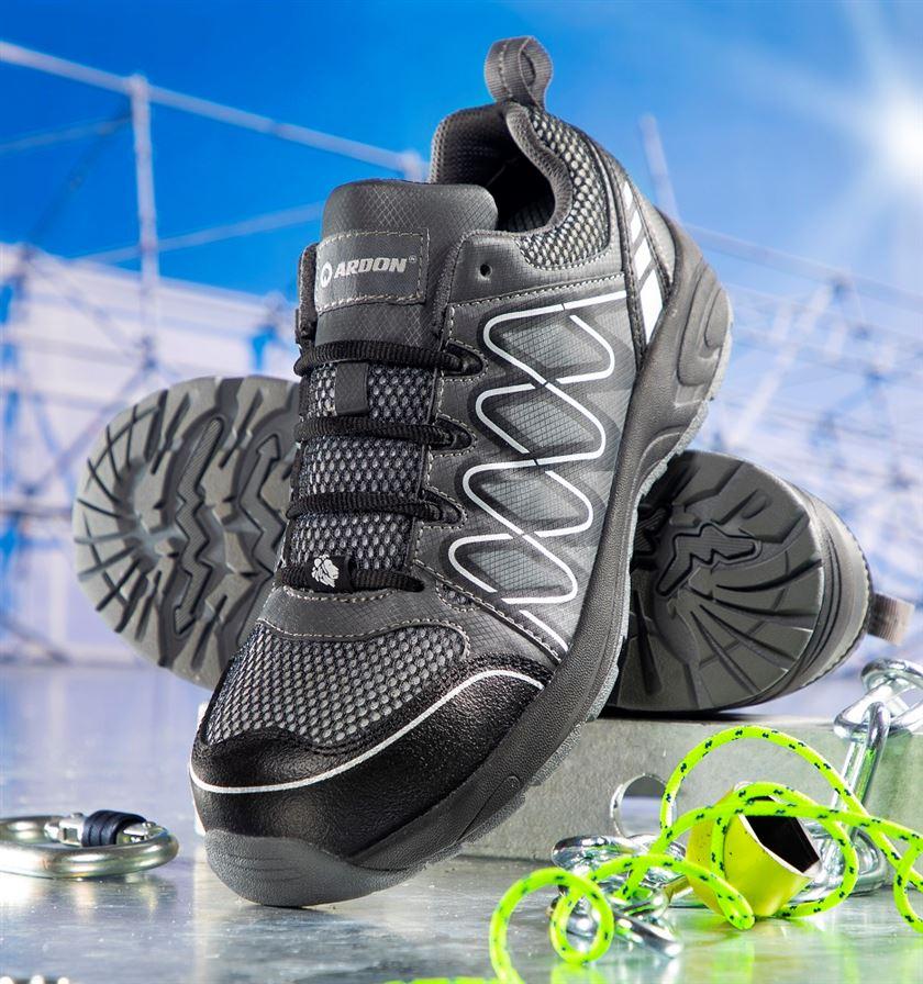 Bezpečnostná obuv - poltopánky ARDON VISPER S1P SIVÉ 14bcc25ccc6