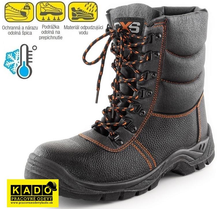 03a3ae464e70 Bezpečnostná zateplená holeňová obuv STONE TOPAZ WINTER S3