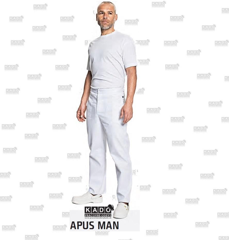 961e368aedcc Pracovné odevy - Lekárske Pánske nohavice APUS Červa