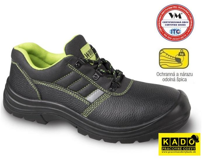 34e5850e210f Bezpečnostná obuv VM - poltopánky GÖTEBORG 3285-S1