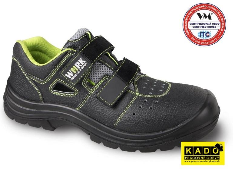 407bc865e8 Pracovná obuv VM - sandále UPPSALA 3235-O1