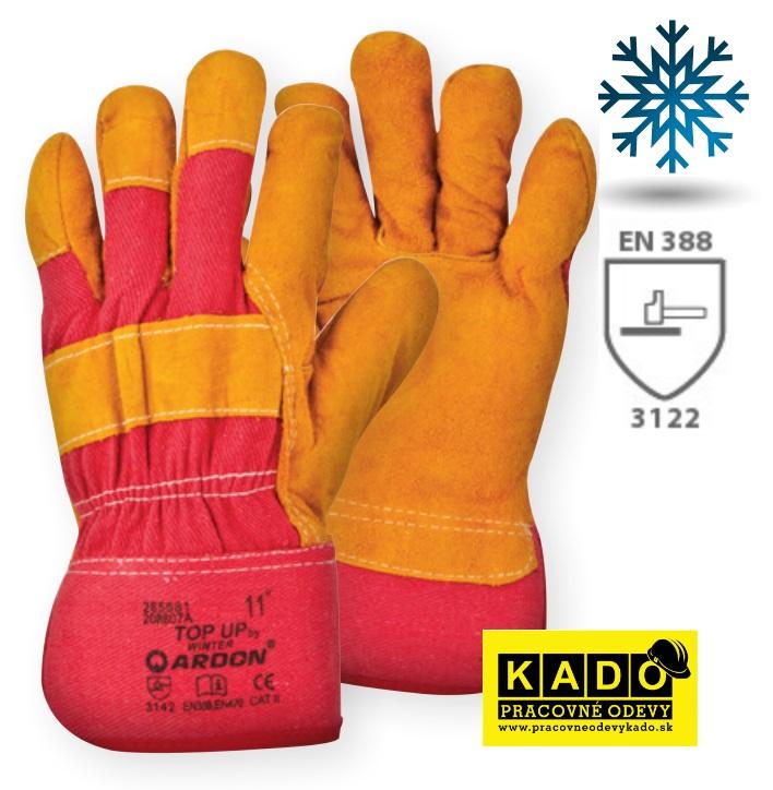 Pracovné Rukavice zateplené top up Winter ARDON 81d1882206