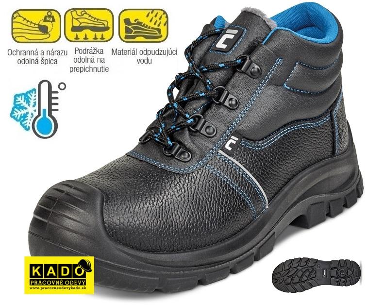 7dab3d8c8c3f Zateplená bezpečnostná obuv RAVEN XT ANKLE WINTER S3 CI SRC