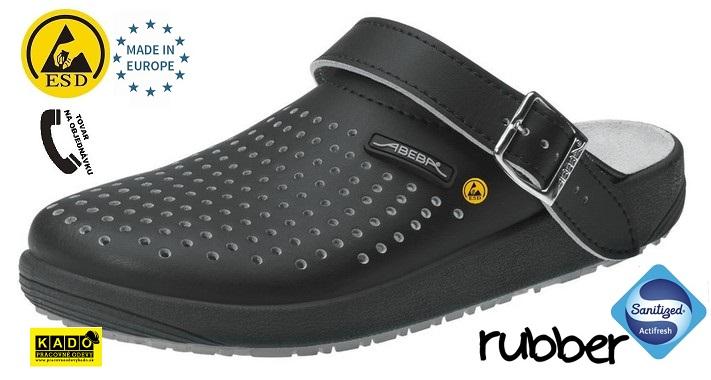 53830ebc8906a Zdravotná pracovná obuv ABEBA 5310 ESD čierna