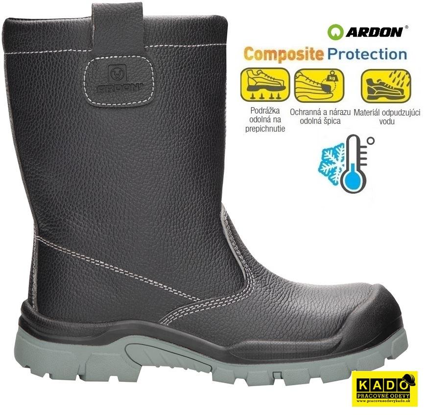 fe2d722c1d60 Bezpečnostná obuv ARDON TIBIA S3 NM WINTER zateplená