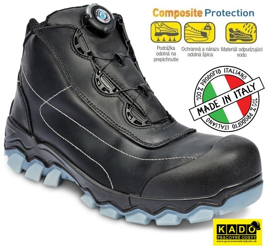 Bezpečnostná obuv PANDA No. SIX CGW MF S3 SRC kotník 80811fb0bcd