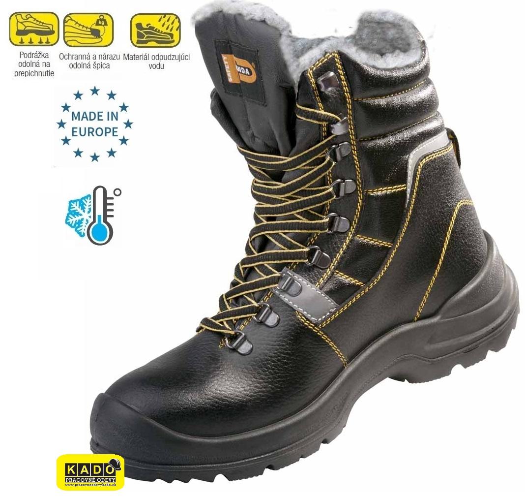 Bezpečnostná obuv zateplená PANDA STRONG PREFESSIONAL TIGROTTO S3 WINTER 1e64b94f106