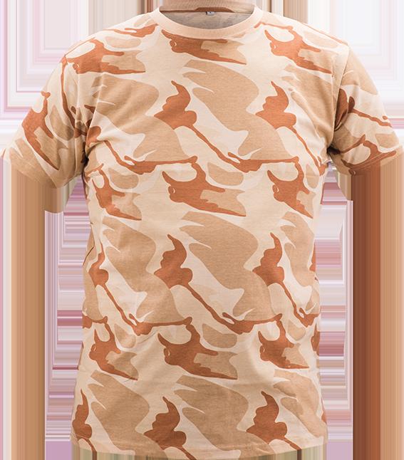 24ac69764f81 AKCIA SIS maskáčové tričko CRAMBE CRV pieskové