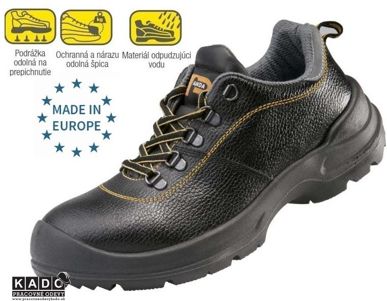 Bezpečnostná obuv PANDA STRONG PROFESSIONAL PANTERA S3 92290 73bf1c6d8fd