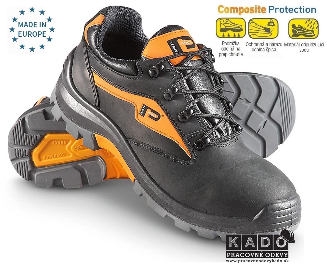 Bezpečnostná obuv PANDA EXTREME LOW S3 ESARO DORPEDAJ 9197c46e291