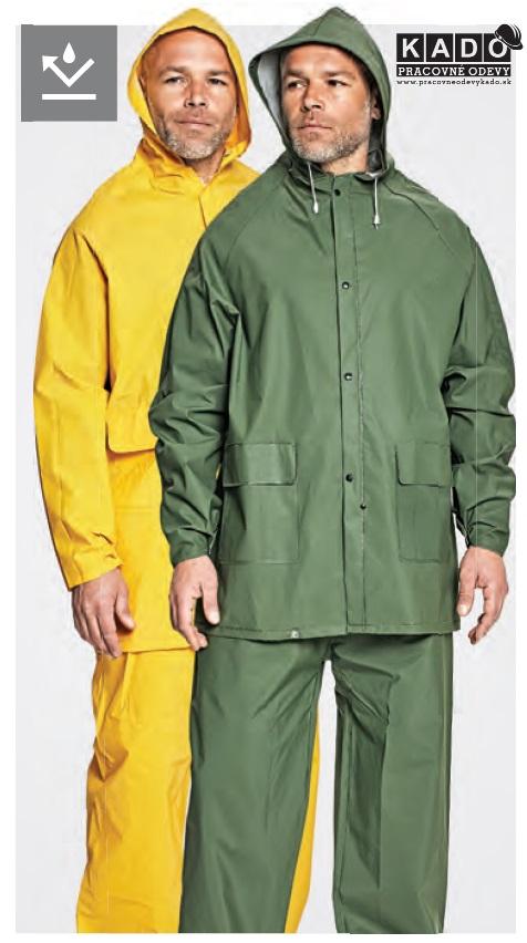 60e4967e52677 Pracovné odevy - nepremokavý oblek HYDRA/HUGO ČERVA