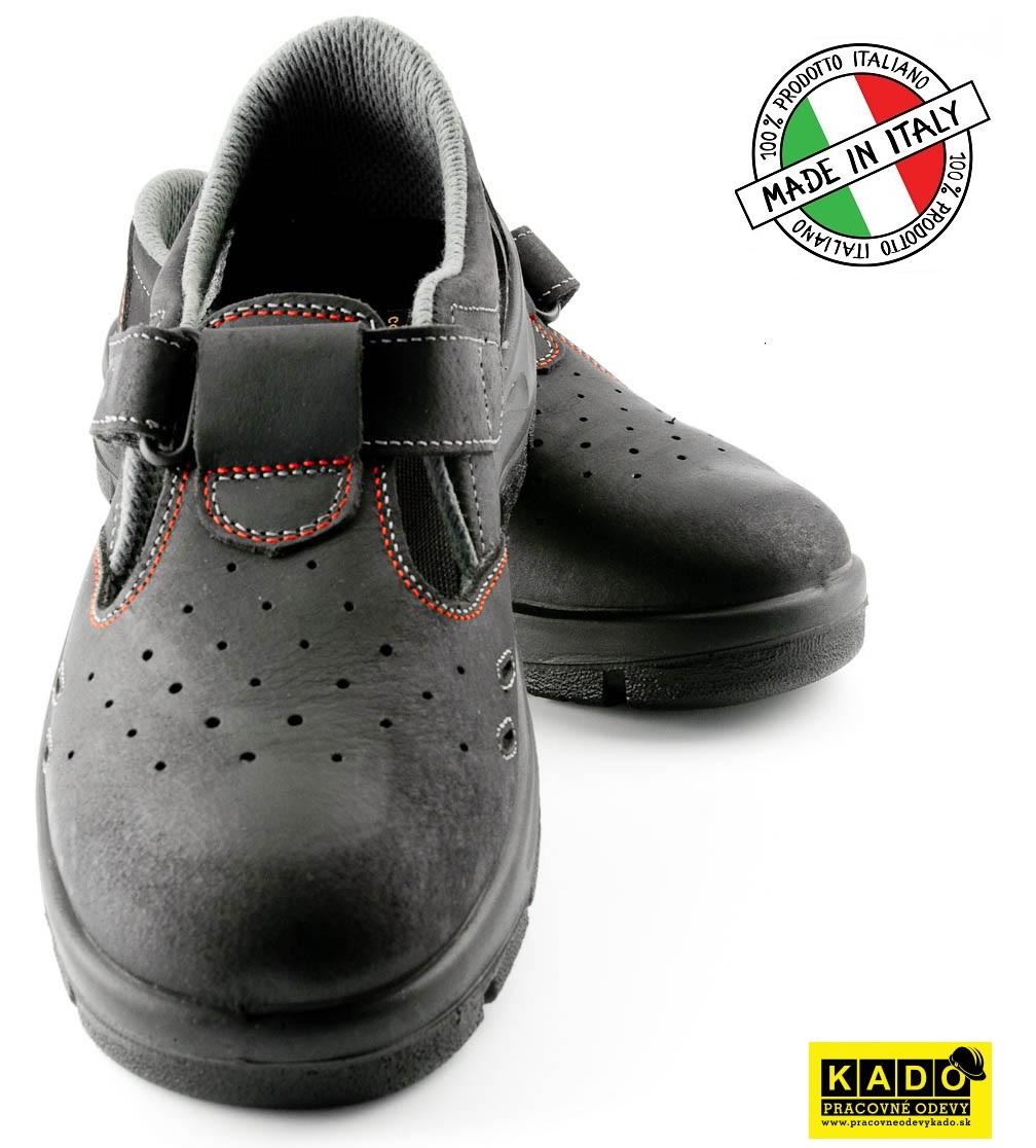 f5482d75a93ed Pracovná obuv PANDA STRONG SANDAL O1 TOPOLINO 6109