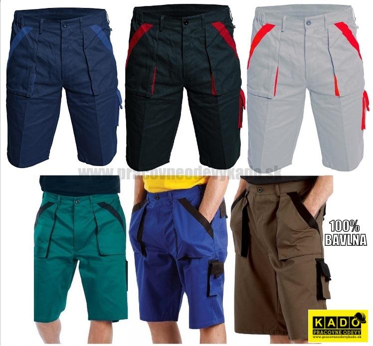 Pracovné odevy - Montérkové šortky DAVID ORION CXS šedo-šierne ... 822aebb2ee