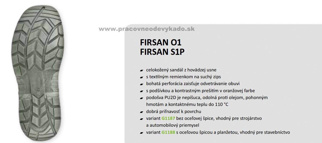 VÝHODY NÁKUPU U NÁS. Pracovná obuv FIRSTY FIRSAN SANDAL S1P c9d0db77858
