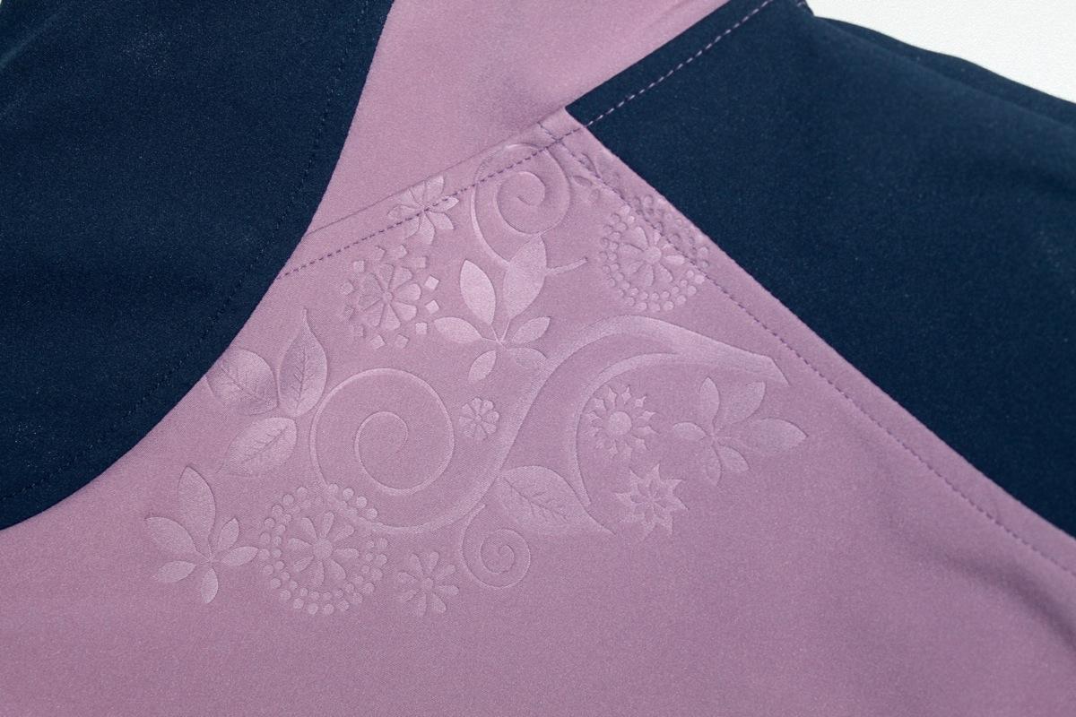 Pracovné odevy-Dámska softshellová bunda YOWIE ČERVA FIALOVÁ TM.MODRÁ 0c3639d456