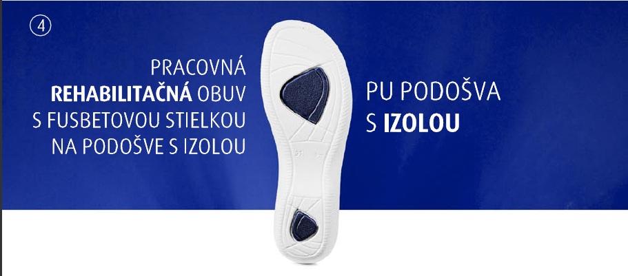 2a85ecbd0bcd Pracovná rehabilitačná obuv barea - zdravotné šľapky 080058