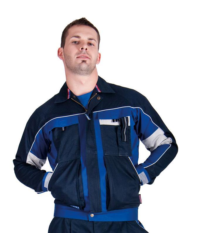 0f262e17d61 Pracovné odevy - MONTÉRKOVÁ SUPRAVA STANMORE NA TRAKY modrá