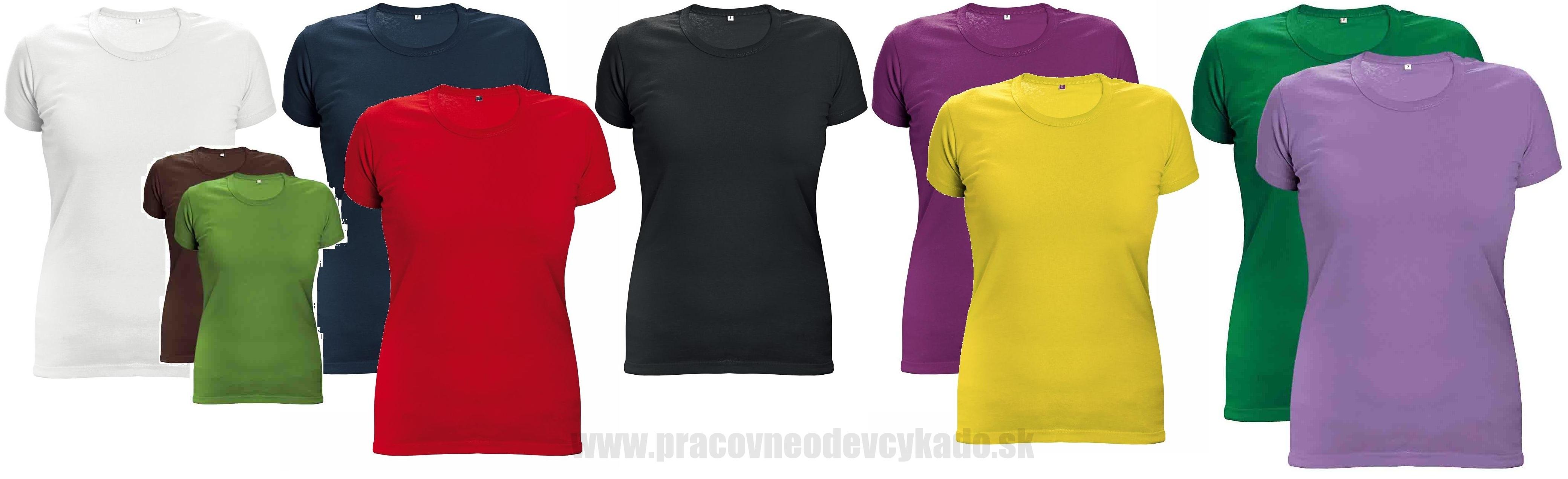 9cf69810ae94c Dámske tričko SURMA LADY ČERVA 170g | PRACOVNÉ ODEVY KADO, pracovná ...