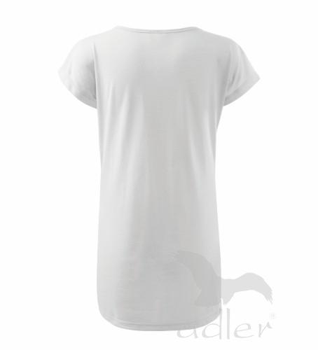 bd1030193844 123 Tričko šaty LOVE 150 adler 00 biela