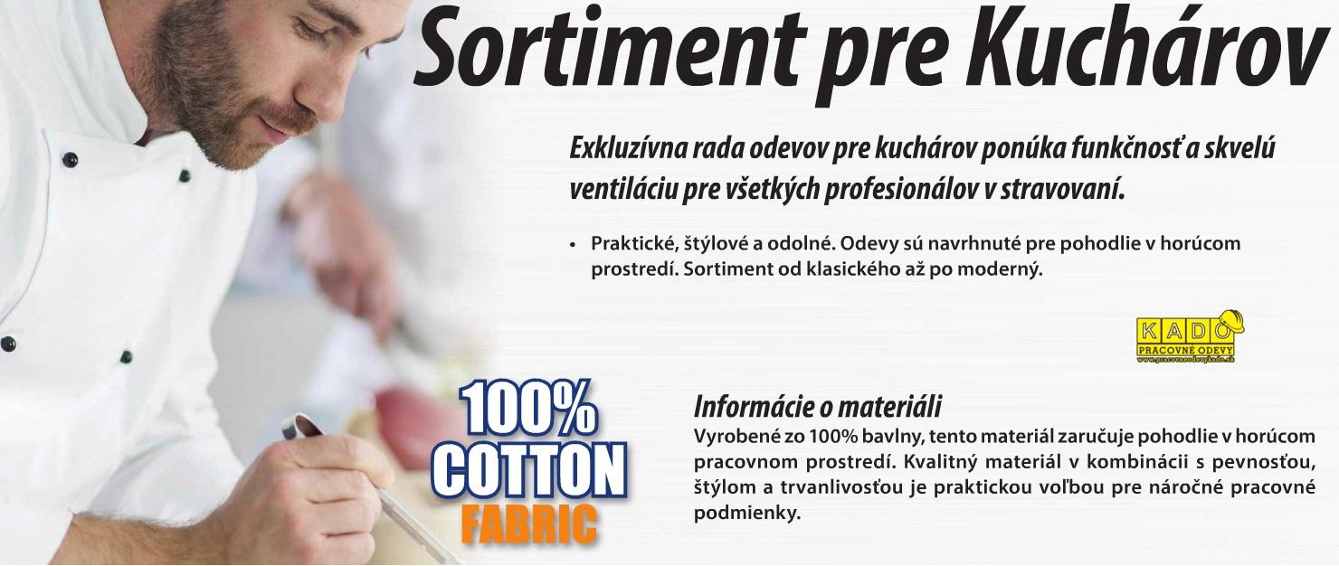 4f641bfad7ca Pracovné odevy-Kuchársky Rondon biely Executive Chefs PW C776 245 g m²
