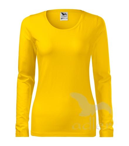 8445e1da8e33 Pracovné odevy - 139 tričko dámske Slim adler 04 žltá