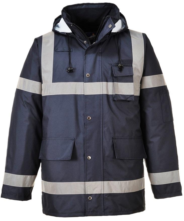 Pracovné odevy-Reflexná zateplená bunda PORTWEST S433 PW Iona Lite ed61d228419
