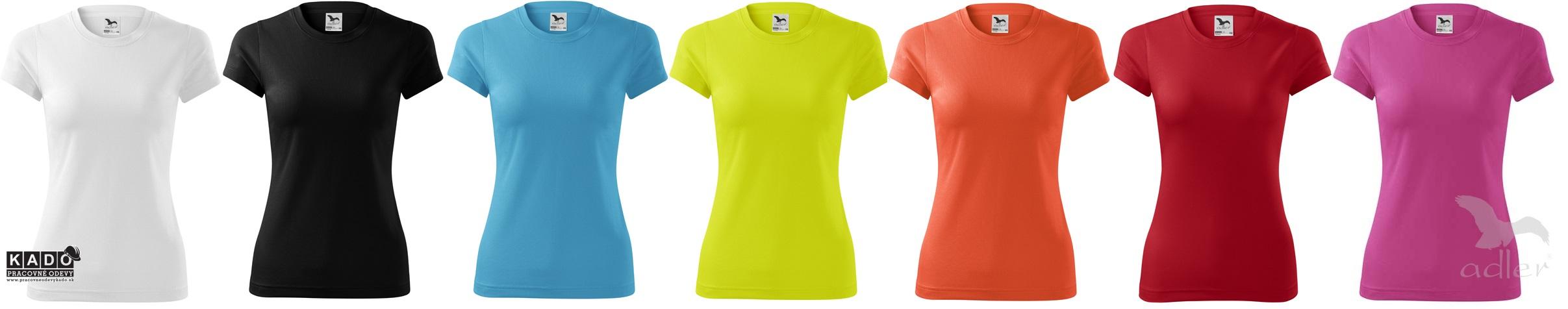 4f2965e5de1d 140 dámske športové polyesterové tričko FANTASY ADLER