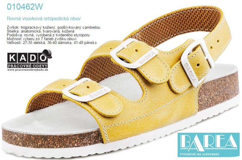 6992f84e704d Zdravotná obuv-ortopedické sandále 462 BAREA FAREBNÉ